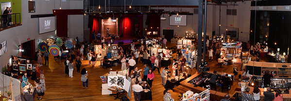 aerial view of RAW Nashville vendors