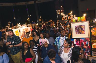 Crowd RAW Nashville vendor section