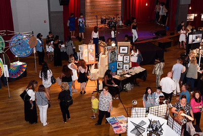 aerial view of RAW Nashville vendors